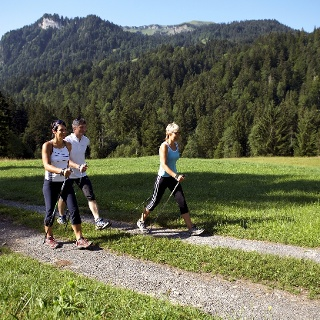 Nordic Walking in Sibratsgfäll