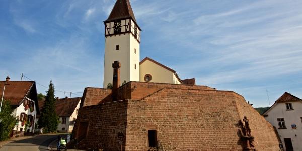 Wehrkirche in Bundenthal