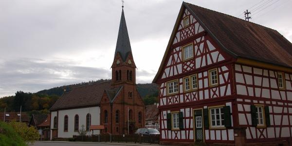 Das Fachwerkdorf Bobenthal