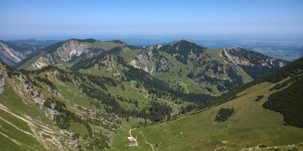 Aussicht vom Gipfel der Rotwand