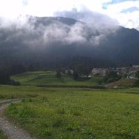 Panorama verso Maso Toscana e la Paganella.