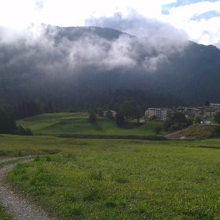 Blick Richtung Maso Toscana und Paganella