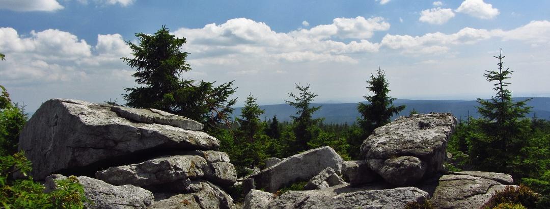 Goethefelsen am Ochsenkopf