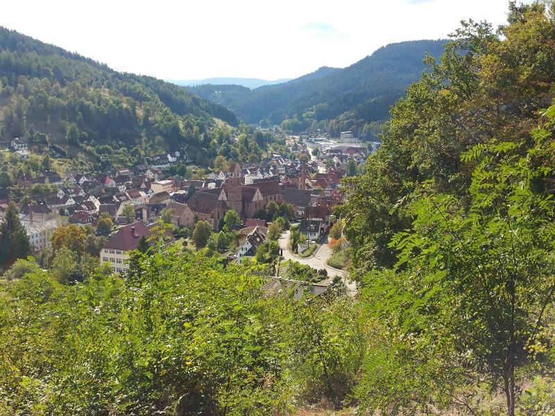 Ostweg Etappe 6: Alpirsbach - Schramberg