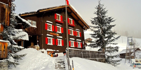 Mitten in Winterwunderland von Furna