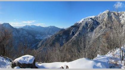 Aussicht vom Gipfel der Cima Rocca