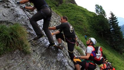 Klettersteig Austria Map : Klettersteige in kärnten