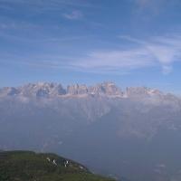 Panorama dalla terrazza della Roda.