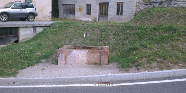 Brunnen, via Belvedere, Molveno