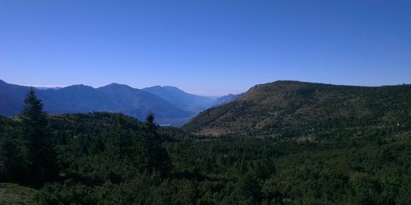Blick Richtung Valle dei Laghi