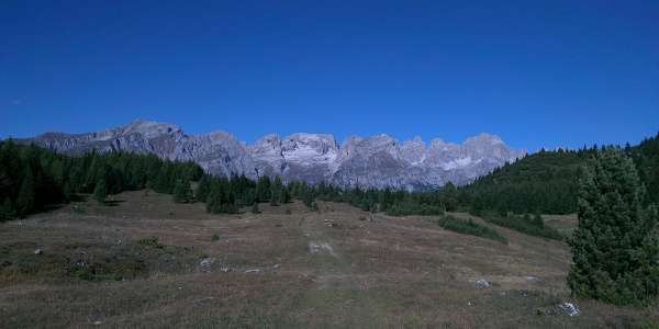 Weg Richtung Passo San Giovanni