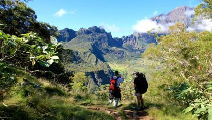Wandern im Talkessel Mafate