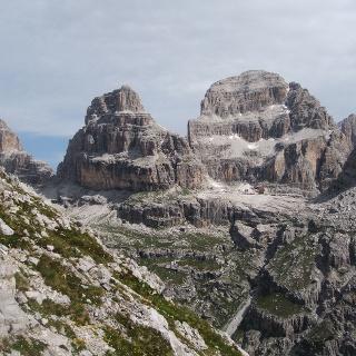 Hut Pedrotti from sentiero Palmieri