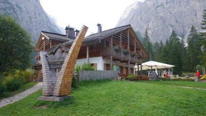 Die Talschlusshütte im Fischleintal
