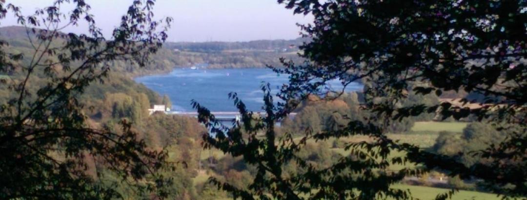 Blick über den Kemnader See