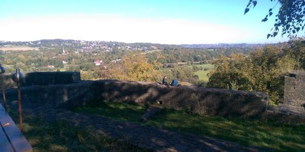 Der Blick von Burg Blankenstein Richtung Bo.-Stiepel
