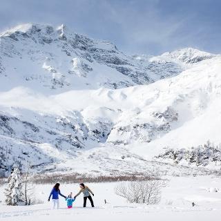 Winterwandern am Fuße des Hohen Sonnblicks