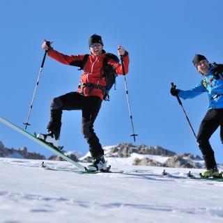 Dynafit Skitourenlehrpfad Hochkeil