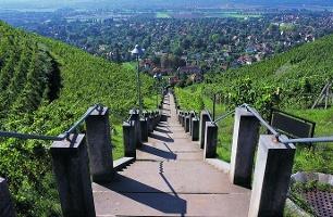 Foto Spitzhaustreppe in Radebeul