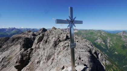 Am Hauptgipfel der Gliegerkarspitze