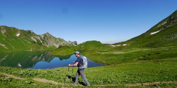 """Hiking at """"Schrecksee"""""""