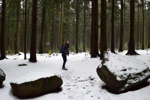 Foto Wandern im Schnee
