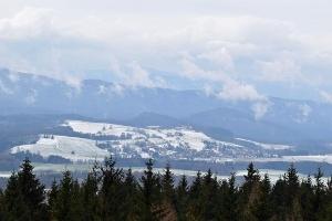 Foto Aussicht vom Tanzplan im Winter