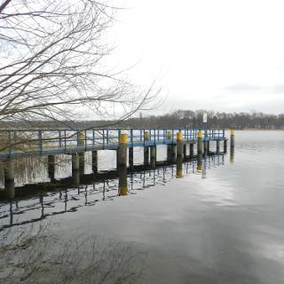 Blick auf den Lehnitzsee