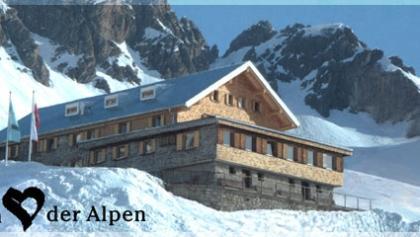 Ulmer Hütte im Winter