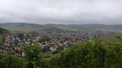 Blick auf Leinach