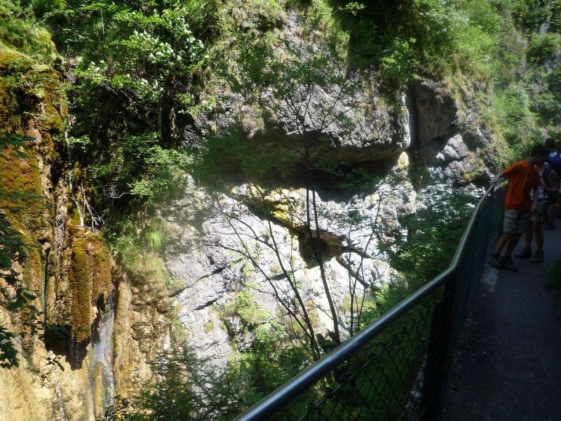 Wandern von Kiefersfelden aus - Gießenbachklamm mit Schopperalm