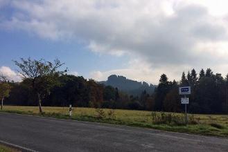 Foto Blick von Ostrau zum Falkenstein