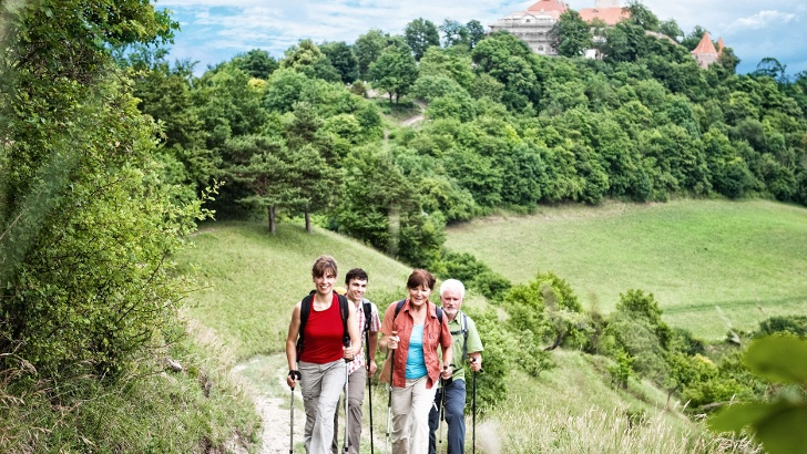 Wandern rund um die Leuchtenburg