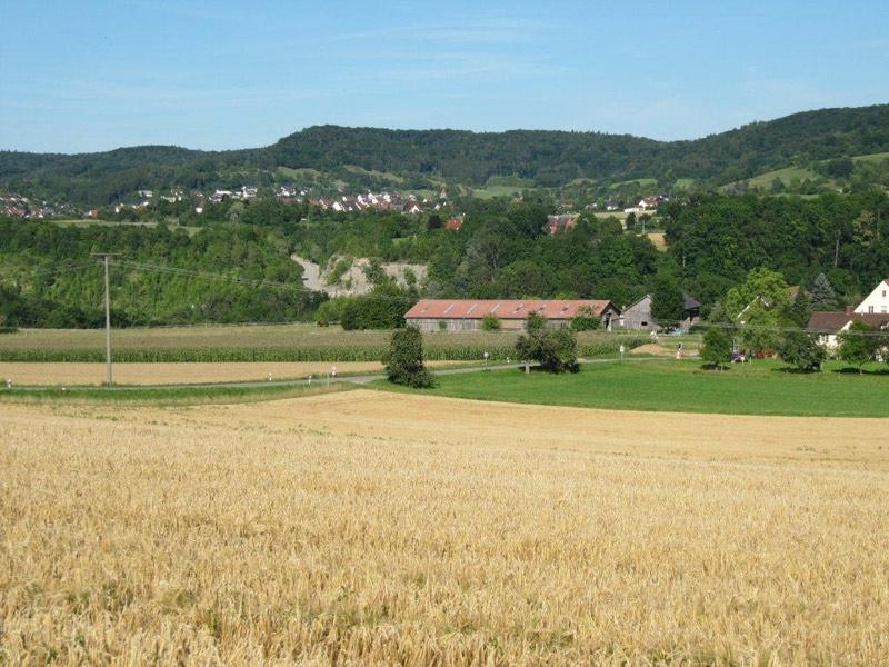 Kochertal bei Schwäbisch Hall  - @ Autor: Beate Philipp  - © Quelle: Pferdehof Wilhelmsglück