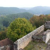Blick von der Ruine Alt Dahn
