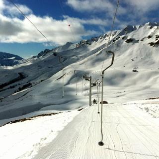 Das Skigebiet Champéry