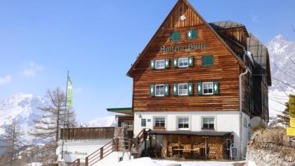 Austriahütte im Winter