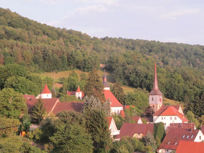 Schloss Braunsbach  - @ Autor: Beate Philipp  - © Quelle: Gemeinde Braunsbach