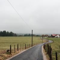 Feldweg Richtung Gräbelesmühle