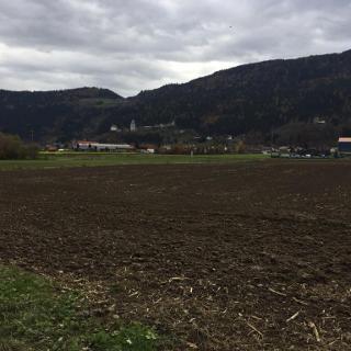 Blick auf die Burgenstadt Friesach