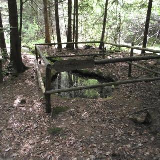 Der Glockenborn in der Wüstung Gerwigshain