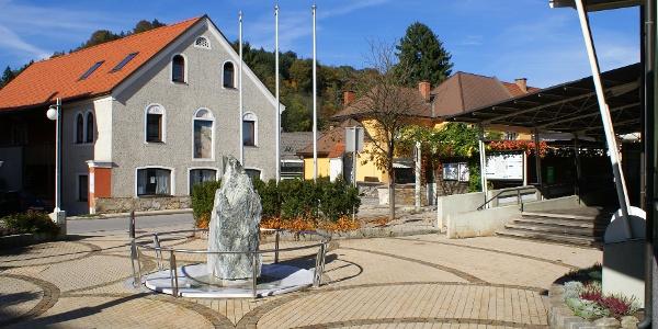 am Hauptplatz von Gratwein