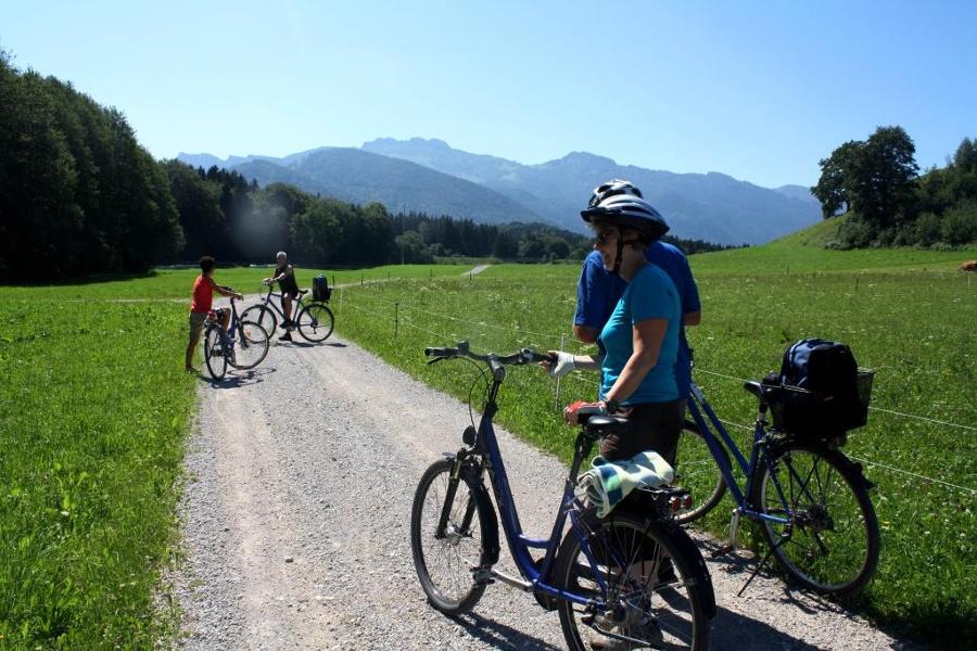 kulinarischer Radweg – von Prien am Chiemsee nach Aschau und zurück
