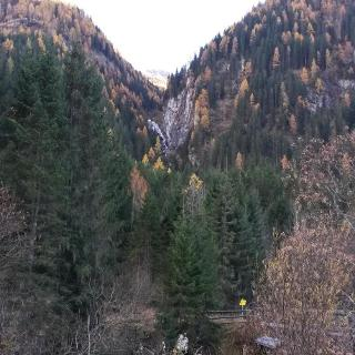 Aufstieg durch das Gsaritzeralmbach Tal