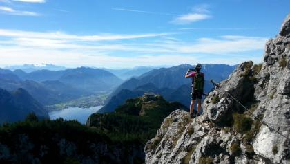 Klettersteig Traunstein : Die schönsten klettersteige am traunsee