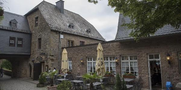 Burgrestaurant, Außenansicht