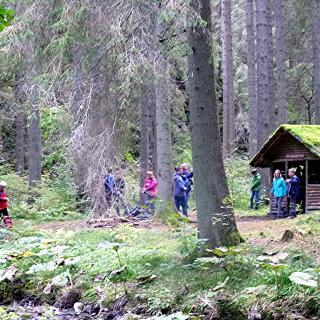 An der Rötenbach-Hütte