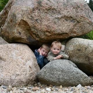 Garten der Steine an der Steinroute