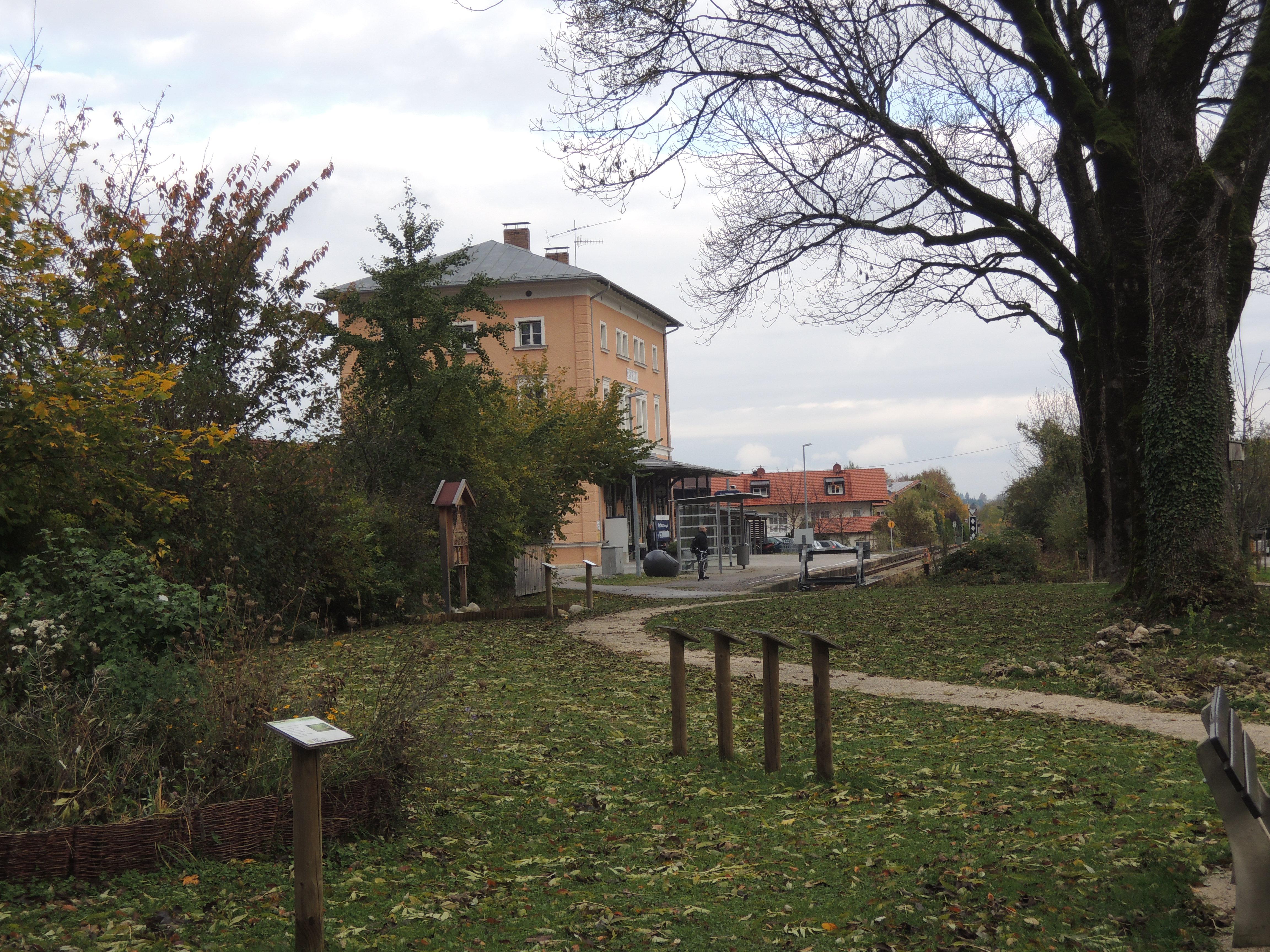 Der Bahnhof von Aschau