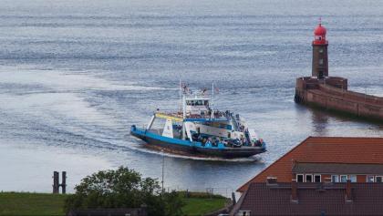 Die Weser-Fähre Nordenham-Blexen-Bremerhaven